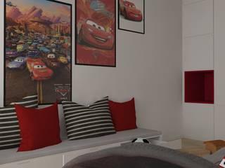 Pokój chłopca: styl , w kategorii Pokój dziecięcy zaprojektowany przez PUFA STUDIO