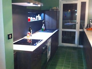 LSAI Kitchen Chipboard Wood effect
