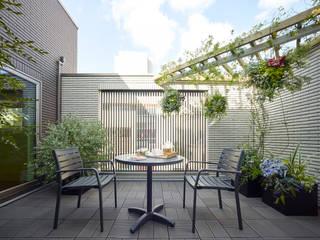 Balcony (有)ハートランド モダンデザインの テラス