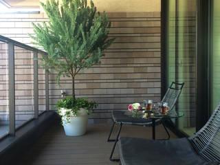 Balcony: (有)ハートランドが手掛けたベランダです。