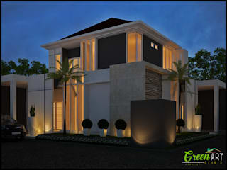 Private House Mr Ashiang:   by GreenArt Studio