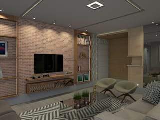 Modern living room by Espaco AU Modern