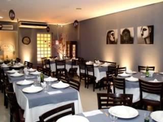 Restaurante Espaços gastronômicos modernos por Cecilia Boeckmann Arquitetura Moderno