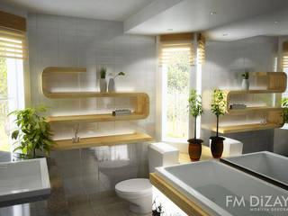 F&M Dizayn - Mobilya & Dekorasyon – Banyo Dekorasyonu - FM : modern tarz Banyo