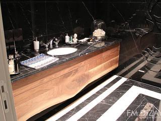 Banyo Dekorasyonu - FM Modern Banyo F&M Dizayn - Mobilya & Dekorasyon Modern