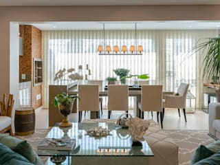 Izilda Moraes Arquitetura Sala da pranzo moderna
