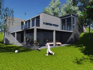 Maisons de style  par PEI arquitectura,