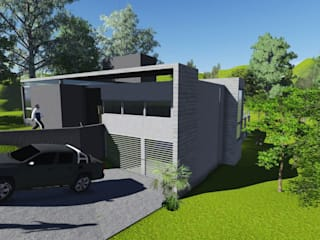 Maisons minimalistes par PEI arquitectura Minimaliste