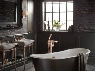 Madeira cast iron bath: classic Bathroom by Heritage Bathrooms