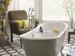 Porto Santo cast iron bath: classic Bathroom by Heritage Bathrooms