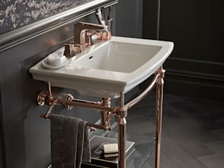 Rose Gold collection Baños de estilo clásico de Heritage Bathrooms Clásico