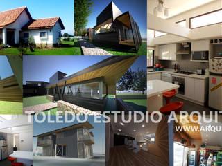portada: Casas de estilo  por Toledo estudio Arquitectos