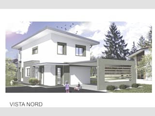 Progetto residenza unifamiliare di Studio Tecnico Treppo Alberto Moderno