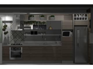 Cozinha : Cozinhas  por Omega Arquitetura,Escandinavo