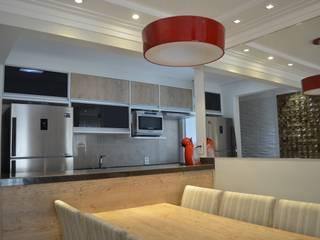Reforma de pequeno apartamento 65m2:   por Alfie Barrocal Arquitetura e Reforma,Moderno
