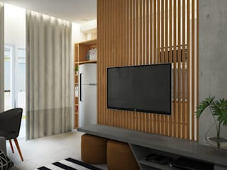 You! New style - Itajaí Salas de estar modernas por Plurale Arquitetura Moderno