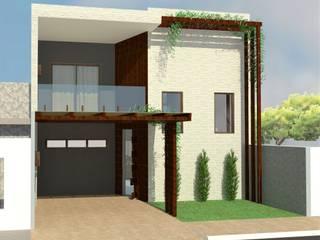 Reforma de uma casa pequena, mas aconchegante. por Mayara Feitosa Arquitetura