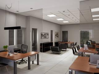 Imobiliária Solar Imóveis Espaços comerciais modernos por LS ARQUITETURA Moderno