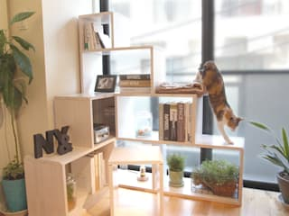NYAND SHELF <ROOT> - Furniture for Cats and Humans - &lodge inc. / 株式会社アンドロッジ SoggiornoScaffali