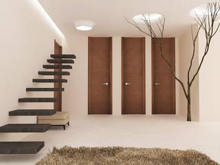 Проект двухкомнатной квартиры Гостиная в стиле минимализм от KOSOLAPOVA DESIGN Минимализм