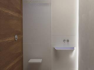 Проект двухкомнатной квартиры: Ванные комнаты в . Автор – KOSOLAPOVA DESIGN