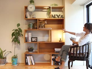NYAND SHELF <CAVE> - Furniture for Cats and Humans - &lodge inc. / 株式会社アンドロッジ SoggiornoScaffali