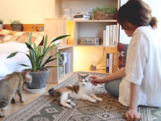 NYAND SHELF <TREE> - Furniture for Cats and Humans - &lodge inc. / 株式会社アンドロッジ Stanza dei bambiniContenitori