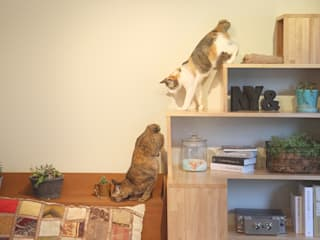 NYAND SHELF <TREE> - Furniture for Cats and Humans - &lodge inc. / 株式会社アンドロッジ Camera da lettoComodini