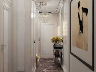 Classic style corridor, hallway and stairs by Арт Реал Дизайн Classic
