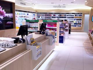 Kappé Drugstore, Schiphol Moderne winkelruimten van Bleeker Concepts Modern