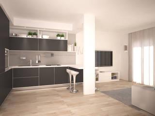 Appartamento Cucina moderna di Silvana Barbato Moderno