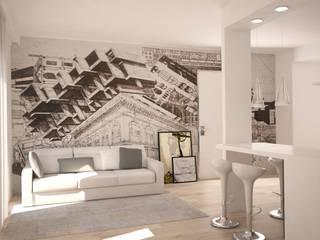 Appartamento Soggiorno moderno di Silvana Barbato Moderno