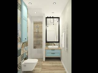 Miętowa łazienka: styl , w kategorii Łazienka zaprojektowany przez Esteti Design