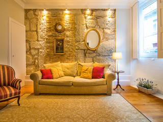 GALLERY HOME:   por Nuno Ribeiro arquitecto,Moderno