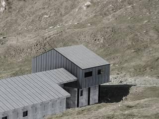 Fotoinserimento della sopraelevazione: Case in stile in stile Moderno di AHORA ARCHITETTURA