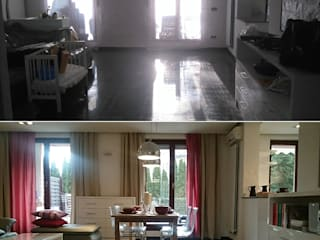 Home staging mieszkania we Wrocławiu od PUFA STUDIO