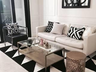 우리집 거실에 적합한 테이블 모던스타일 거실 by MARBLEHOLIC 모던