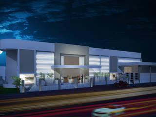 LA MOUETTE: Edifícios comerciais  por Arquitetura Integrada