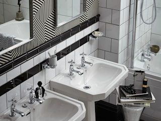 Granley Deco collection Baños de estilo clásico de Heritage Bathrooms Clásico