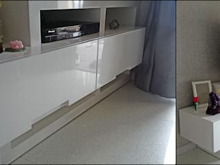 TV Kabinet:   by De' Catoer design & build