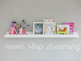 Scandinavian style nursery/kids room by Little One Scandinavian