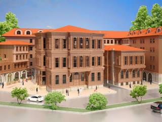 SemsaDesign Mimari Görselleştirme – İstanbul Cumhuriyet Binası (Hotel) 2015:  tarz