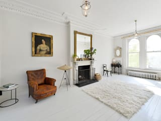 East London House Classic style living room by Graham D Holland Classic