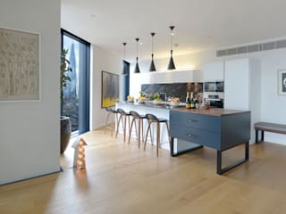 Neo Bankside Apartments Graham D Holland Cocinas de estilo minimalista
