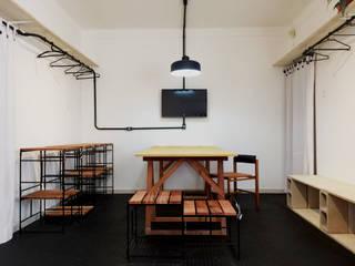 Figurini Lojas & Imóveis comerciais minimalistas por INTRIO Minimalista