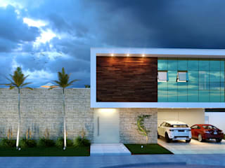 Residência Cangussu Casas modernas por Robson Veloso Arquitetura Moderno