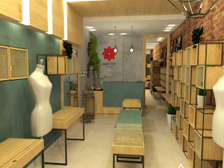 LOJA AT Lojas & Imóveis comerciais industriais por Alternativa Arquitetura Industrial