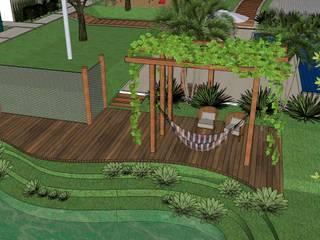 SÍTIO F EUA: Jardins  por Alternativa Arquitetura