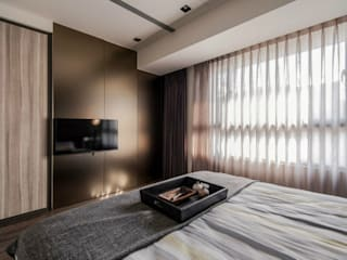 FLAT INTERIOR Modern style bedroom by Archie-Core Modern
