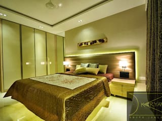 Bedroom by Karyam Designs, Minimalist
